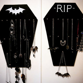 Coffin Jewellery Hanger Small