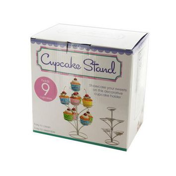 Three Tier Cupcake Stand ( Case of 8 )