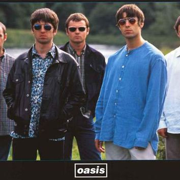 Oasis 1996 Band Poster 22x34