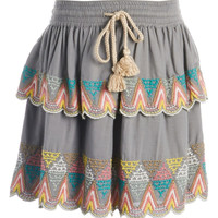 'Ellie' Skirt (Toddler Girls, Little Girls & Big Girls)