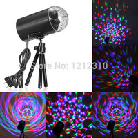 EU/US Plug New RGB 3W Crystal Magic Ball Laser Stage Lighting For Party Disco DJ Bar
