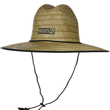 H&T Lifeguard Fishing Stretch Fit Straw Hat