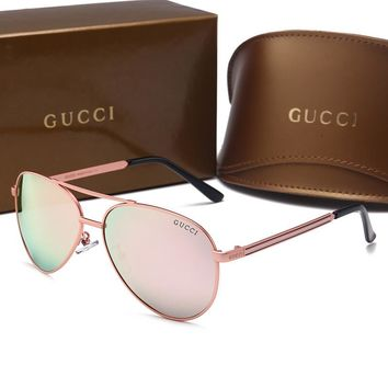 GUCCI Fashion Popular Sun Shades Eyeglasses Glasses Sunglasses H-A50-AJYJGYS