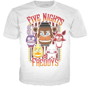 Five Nights At Freddy's - White