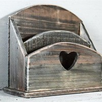 Porta lettere country chic