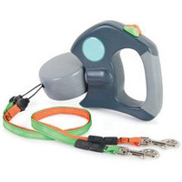 The Tangle Free Dual Dog Leash - Hammacher Schlemmer