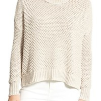 Madewell 'Thea' Seed Stitch Pullover | Nordstrom