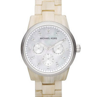 Michael Kors Michael Kors Ritz Chronograph Watch, Light Horn - Michael Kors
