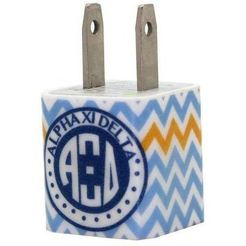 Alpha Xi Delta Chevron Phone Charger