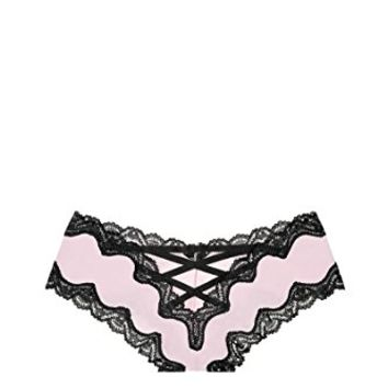 Victoria's Secret Very Sexy Lace-Up Cheeky Panty Angel Pink (Medium)