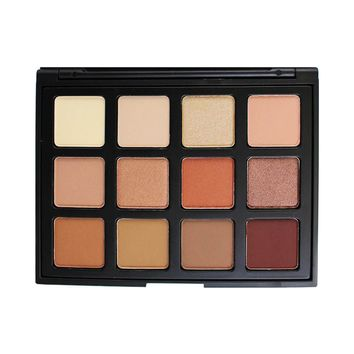 Morphe Cosmetics - 12NB - Natural Beauty Eyeshadow Palette - Pick Me Up Collection
