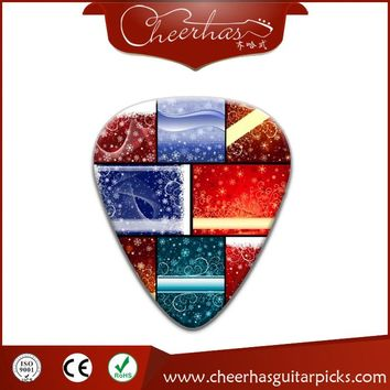 100pcs Colorful Custom Celluloid Guitar Picks