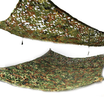 7'X10' Woodland Military Camo Netting