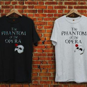 T Shirt Design Shop Short Sleeve Fashion 2018 Crew Neck The Phantom Of The Opera Broadway Tee Shirts For Men