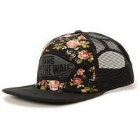 Vans Girls Beach Girl Floral Trucker Hat
