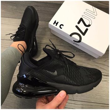 Nike Air Max 270 All Black Sneakers