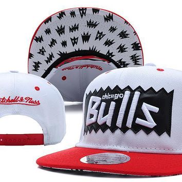 PEAPON Chicago Bulls Bat 9FIFTY Snapback Hat M&N