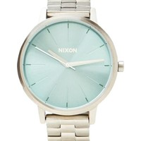 Nixon The Kensington in Metallic Silver