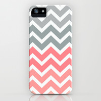 Chevron Pink Fade iPhone & iPod Case by RexLambo