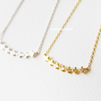 Textured Bar Necklace, Hipster Necklace, Necklaces, Gold Plated Necklace, Bar Necklace, Bar Dog Tag, Minimal Jewelry, Gift Ideas, Holiday