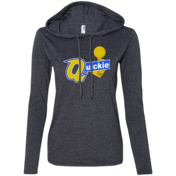 Draymond Green Quickie 887L Anvil Ladies' LS T-Shirt Hoodie