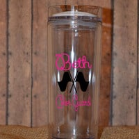 Color Guard Flag Tumbler - Personalized