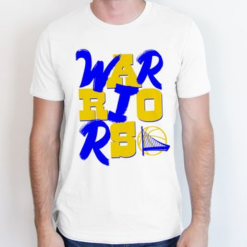 Golden State Warriors Block Letters Tee