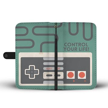 Game Control Wallet Phone Case