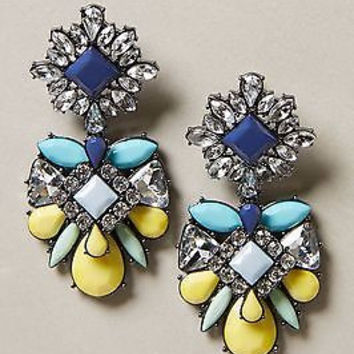 NWT Anthropologie Estrellado Drops Earrings