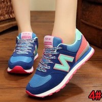 New Balance autumn and winter tide brand wild men and women casual shoes