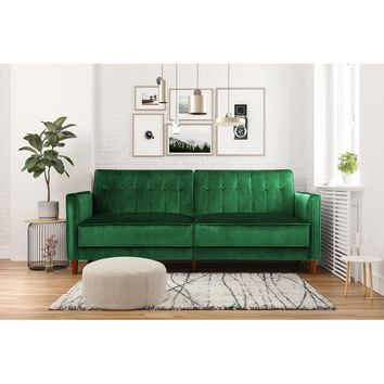 Nia Pin Tufted Convertible Sofa