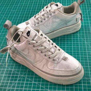 Nike Air Force 1 Low 90/10 All Star 2018 Silver Shoes - Best Online Sale