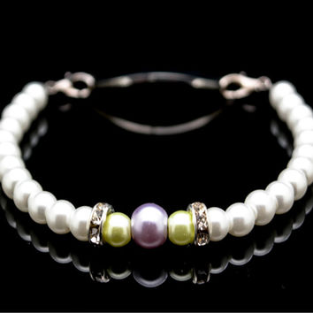 REPLACEMENT INTERCHANGEABLE BEADED BRACELET OR WATCH BAND