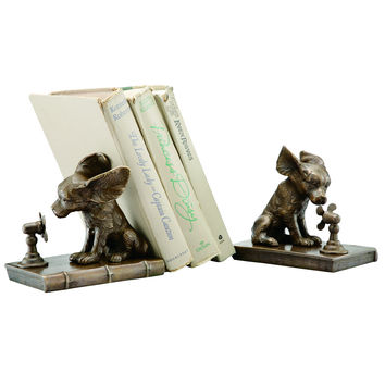 SPI Home Collection Cool Dog Bookends