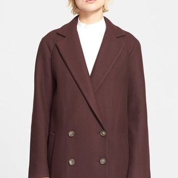 Women's Theory 'Cafe Nest' Wool Blend Coat