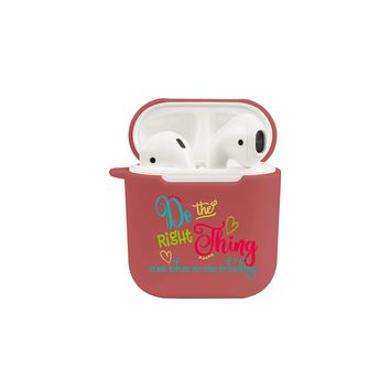 Soft TPU Airpod Protective Case - DO THE RIGHT THING
