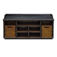 Ardusin Warm Honey Finish Solid Mahogany Hobby Bench by Uttermost