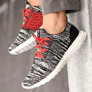 Adidas ULTRA BOOST x Missoni Fashion Women Men Knit Sport Running Shoes Sneakers