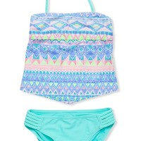 Girl's Gossip Girl 'Sundown' Two-Piece Swimsuit,