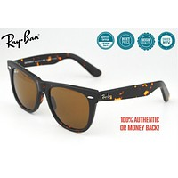 Cheap Polarized Hot Summer Ray-Ban Wayfarer Classic Tortoise Frame Brown Classic Lense outlet