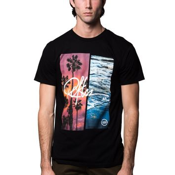 Pacific Coasts Tee - Black