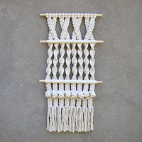 Geometric wall decor Macrame wall hanging tapestry
