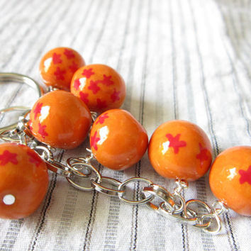 Dragon Ball Z Dragon ball keychain by TrenoNights on Etsy