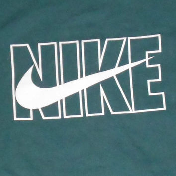 New Vintage 90s Nike Sleeveless T Shirt XL made in USA NWOT