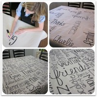 Let?s Table It. | Sharpie Markers Official Blog