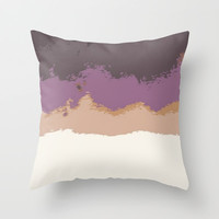 A Look Back Throw Pillow by Bunhugger Design