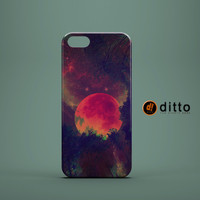 BLOOD MOON RISING Design Custom Case by ditto! for iPhone 6 6 Plus iPhone 5 5s 5c iPhone 4 4s Samsung Galaxy s3 s4 & s5 and Note 2 3 4