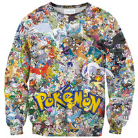 Pokemon Invasion Sweater
