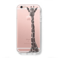 Giraffe iPhone 6 Case, iPhone 6s Plus Case, Galaxy S6 Edge Case C038