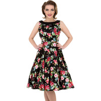 Modest Ladies Swing Vintage Dress LAVELIQ